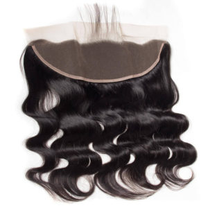 13x4 Body Wave Lace Frontal Brazilian 100% Unprocessed Body Wave Human Hair Extensions