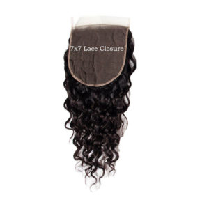 7x7 water wave lace closure