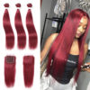 99j red straight bundles with closure-6