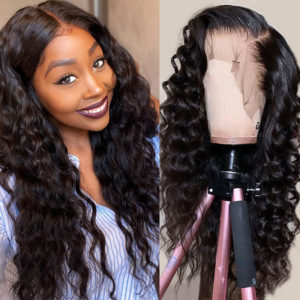 Loose Deep Wave Full Lace Human Hair Wigs
