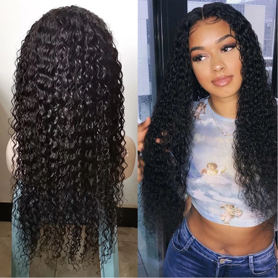 jerry curly human hair wig -1