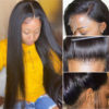 kinky straight lace front human hair wigs-7