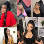 lace front human hair wigs straight-6