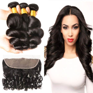 loose wave bundles with frontal-3