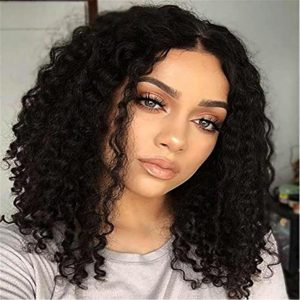 short curly bob wig lace front human hair wigs-12